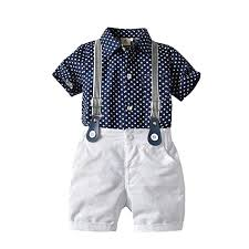 Amazon Com Toddler Baby Boys Formal Outfits Clothes 1 5