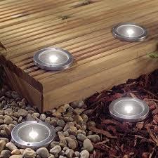 outdoor solar lighting ideas. Beautiful White Wooden Deck Fences Led Outdoor Lighting Ideas Romanesque Home Garden Style Solar