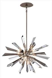 glam it up glittering with crystals and silver this dazzling prism hanging light