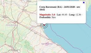 Terremoto in Emilia-Romagna oggi, venerdì 24 gennaio 2020 ...