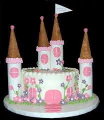 Small Princess Castle Cake Cakes And Cupcakes Castle Birthday