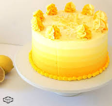 Lemon Cake With Cream Cheese Frosting Thulas Cake Lab