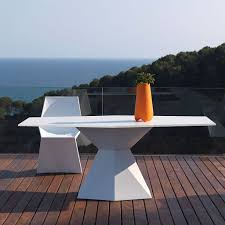 outdoor furniture white. Garden Tables Outdoor Furniture White