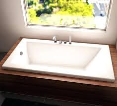 60 x 42 bathtubs zen drop in tub with lower rim whirlpool bathtubs 60 x 42