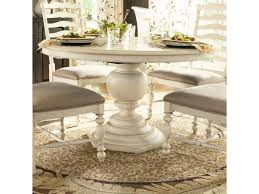 Round pedestal dining table Contemporary Paula Deen By Universal Homeround Pedestal Table Baers Furniture Paula Deen By Universal Home 996655 Round Pedestal Table Baers