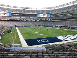 Ny Giants Seating Chart With Rows Metlife Stadium Home Of The Ny Giants Metlife Stadium