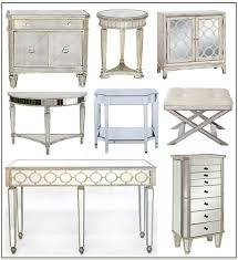 distressed mirrored furniture. Zgallerie Side Chest/Overstock Distressed Mirrored Furniture E