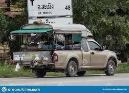 Mini Market On Pickup Truck. Editorial Stock Photo - Image of ...