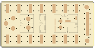 office space plan. A Floor Plan With Mixture Of Open And Private Spaces Office Space