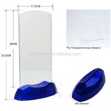 Menu Display Stands Restaurant Acrylic Flashing Led Light Table Menu Restaurant Card Display 83