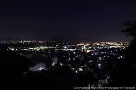富士川第一公園うら山公園の夜景静岡県富士市