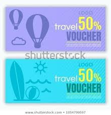 travel voucher template free vector travel voucher template isometric illustration of