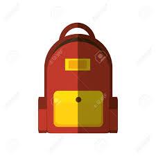 Backpack Graphic Design Backpack School Bag Icon Vector Illustration Graphic Design