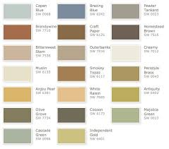 Sherwin Williams Color Chart For Exterior Paint Sherwin Williams Rustic Refined Color Palette Exterior