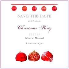 Christmas Party Save The Date Templates Free Printable Christmas Save The Date Templates Template
