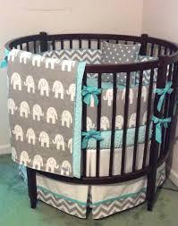 round baby cribs round crib bedding