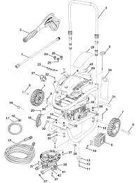 Hu80520 pressure washer parts schematic
