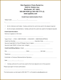 To Hotel Credit Card Authorization Form Template Pdf For – Appnews