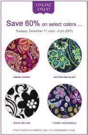 Vera Bradley Pattern Names Delectable Vera Bradley Bright Friday Sale Select Patterns 48% Off