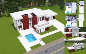 sims 3 modern mansion floor plans lovely sims 3 modern family house gebrichmond