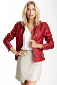 image of kenneth cole new york kenneth cole reaction faux leather scuba jacket