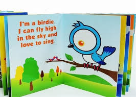 children cartoon story book printing service