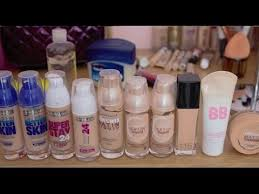 Maybelline Foundation Guide