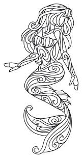 Small Picture Ariel coloring page design Mermaid Arts Crafts Pinterest