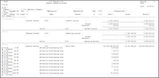 French Statutory Chart Of Accounts Print The French General Ledger Report