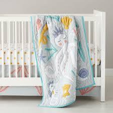 girls crib bedding sets the land of nod