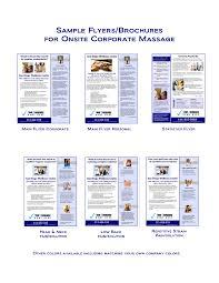 flyers sample dhompeaat cf resume sample business brochures flyers
