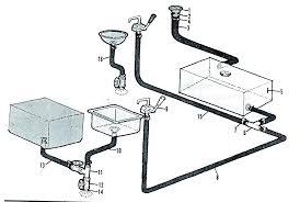 bathroom bathtub drain parts old plumbing image from