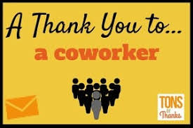 Thank You Note After Funeral To Coworkers 20 Example Thank You Notes To Coworkers
