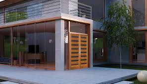 modern front doorsmodernexteriordoorsgray  Perfect Modern Exterior Doors