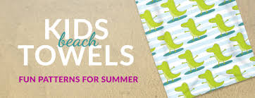 Kids Beach Towels fyrcracker