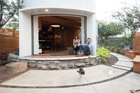 Silo Transformed Into House By Designer Christopher Kaiser (Photos).