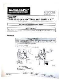 mercruiser trim sender wiring diagram mercruiser trim sender wiring diagram mercruiser genuine mercruiser power trim sender kit alpha bravo on mercruiser