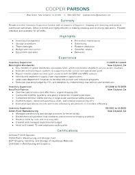 Warehouse Resume Templates Warehouse Supervisor Resume Sample 6