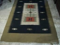 vintage navajo rug native american indian weaving wool blanket rug 46