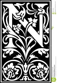 Decorative Letters Decorative Letter N Info