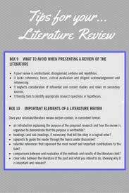 what is a literature review how to do a literature review we hope you these tips on literature reviews useful if you want more info