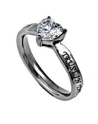 women s cz heart ring purity rings for 25 95 c28