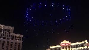 Las Vegas Light Show 2018 Intel Drone Light Show Bellagio Fountains Las Vegas Ces 2018