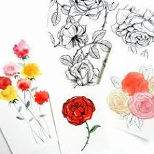 Small Picture drawing beautiful roses How to Draw a White Rose Step by Step