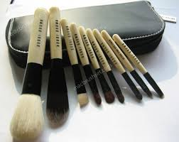 bb bobbi brown deluxe 9 pcs face makeup brush set with pouch 49 99 this brand new set es with 9 excellent pieces of make up brushes