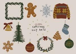 แจกฟรี! ภาพประกอบสำหรับวันคริสต์มาส ให้คุณนำไปใช้ตกแต่งได้ตามใจ