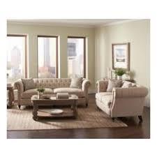 traditional living room furniture sets. Coaster Fine Furniture - Trivellato 2-Piece Button Tufted Sofa Set, Oatmeal Traditional Living Room Sets