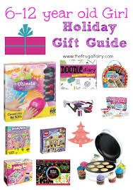 Gifts for 6-12 year old Girls {2013 Holiday Gift Guide}