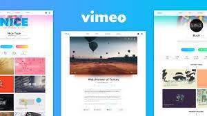Vimeo Design Vimeo Redesign Concept