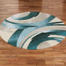 navy circular rugs australia blue round rug x wool and bamboo silk ft turquoise jute seagrass